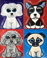 KIDS PAINT Pick Your Favorite Puppy (Set 1)(6yo+)