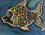 Neon Rainbow Fish (OPEN TO ALL AGES)
