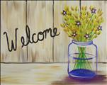 *PUBLIC*  Rustic Welcome  $30