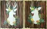 Rustic Deer Set