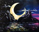 Majestic View- Glow in the Dark Painting!