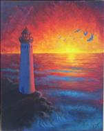 MAJESTIC LIGHTHOUSE SUNSET **PUBLIC EVENT**