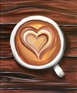 COFFEE AND CANVAS - I Heart A Latte