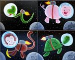 KIDS SPACE CAMP:NEW! Space Animals! (CHOOSE ONE)