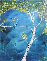 Birch Love Tree