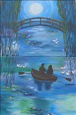 **DATENIGHT** -  Monet's Boat and Bridge Set