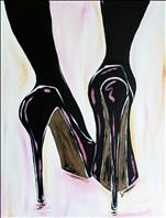 Stilettos on Pastel