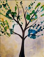 Kid's Class- Handprint Tree Leaves