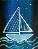 *FAMILY DAY* - Neon Sailboat