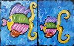 Fishy Family Series - Follow Me Set / Paint one