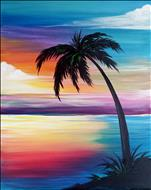 2X's Paint Points ~ Rainbow Sunset