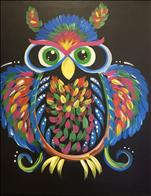 HAPPY HOUR - Neon Owl (ONLY $25!)
