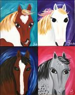 ALL AGES - Pick Your Favorite Horse - CUSTOMIZE!