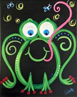 Summer Workshop- Toad-aly Neon Frog (ALL AGES!)