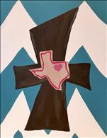 NEW! Texas Family Chevron Cross ($25 SPECIAL!)