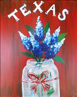 Public Class ~ Texas Bluebonnet Jar - pick colors