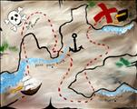 Kid's Class!  Pirate Map