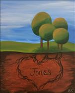 Coffee & Canvas: Family of Trees