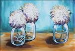 Happier Hydrangeas *Large Canvas!