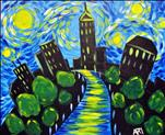 Starry Night over the city *Kid's class *All ages