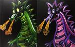 Mommy and Me Dragons! *BLACKLIGHT*