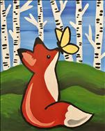 Kids Camp~1 Day FUN ART~ What does the Fox say?