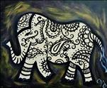 Good Luck Elephant (Personalize Colors)