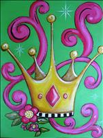 **KIDZ CAMP**  Princess Crown