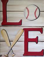 Baseball Love   NEW ART!