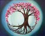 Coffee & Canvas - Tree of Life in Spring