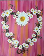Daisy Heart  **NEW ART**