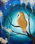 Tranquil Owl & Mimosa Morning