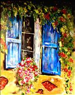 **TUSCAN SERIES** The Blue Shutters