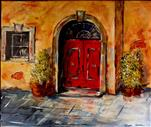 Red Doors of Tuscany