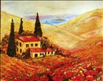 Tuscan Poppies ($45)