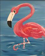 ZOOFARI WEEK! Fancy Feet Flamingo