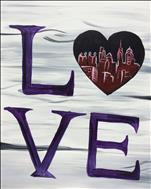 PUBLIC Love Heart Philly Skyline