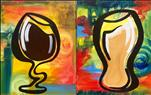 Twisted Wine and Beer  PAINT THE SET