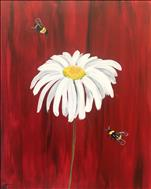 Daisy and Bumblebees