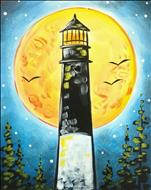 Full Moon Lighthouse