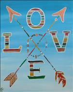 Boho Love Arrows
