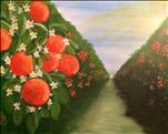 PAINT SIP AND SNIFF! Orange  Grove 2hr $35