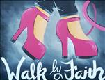 FREE SHIRT/BREAST CANCER AWARENESS - Walk by Faith