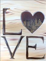 PUBLIC Philly Heart Skyline Brown