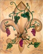Vineyard Fleur de Lis! (Wine Down Wednesday $25)
