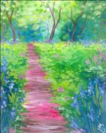 Mimosa Saturday - Monet's Path