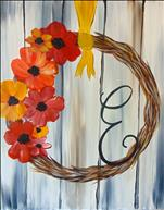 Rustic Autumn Wreath - Open Class