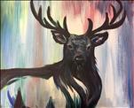 New Art! Colorful Elk ($35)