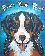 SOLD OUT! ENCORE Feb 25th! Paint Your Pet!