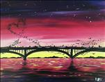 Love Bridge at Sunset (Singles & Couples!)